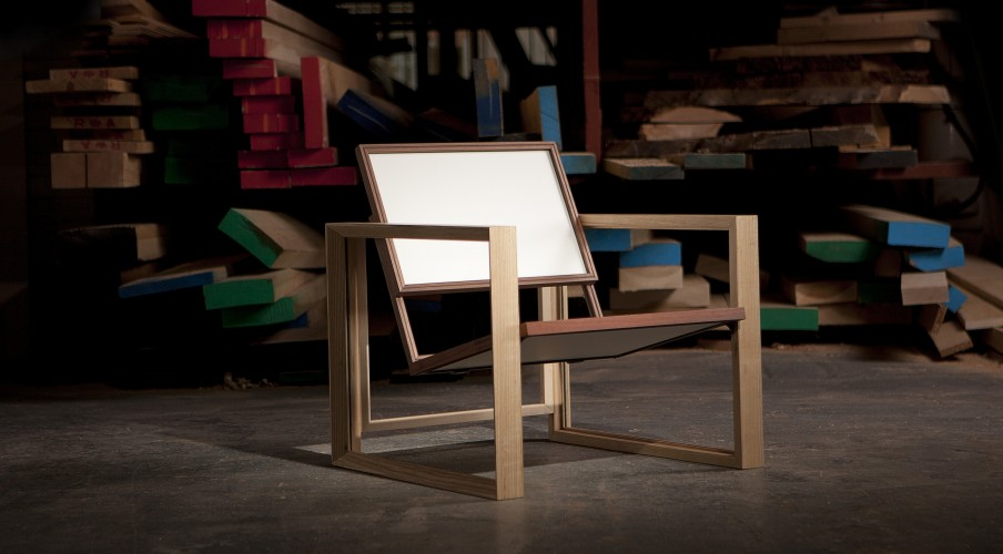 Picture Frame Chair - Matt Golden & The Sculpture House