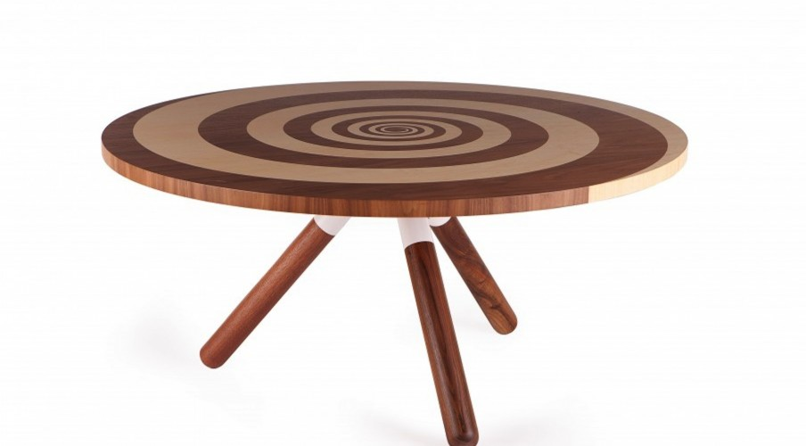 Veneered tables
