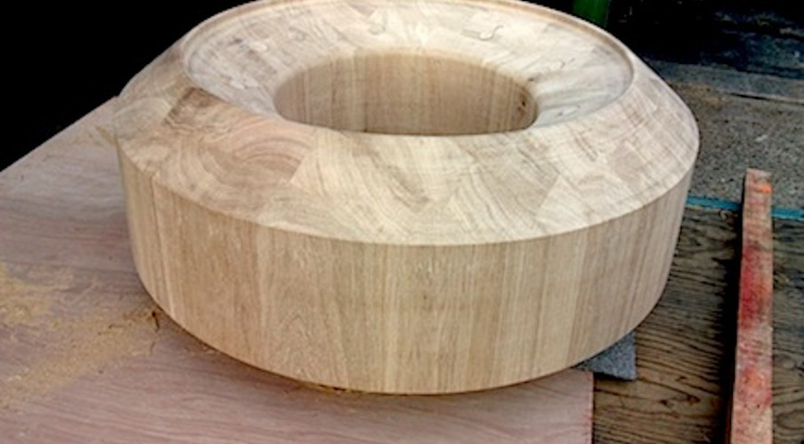 Custom wood turners, Specialist bespoke woodturning globe base