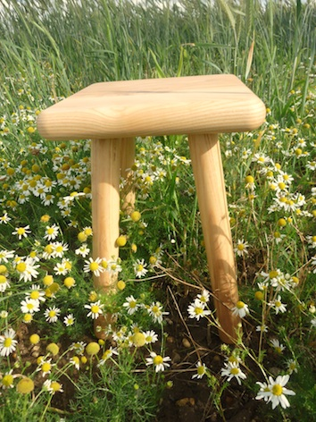 Bespoke Furniture makers Ash stool Custom Furniture